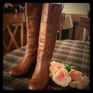 "LUCKY BRAND LEATHER TALL BOOTS ""HAILY"" 8.5"